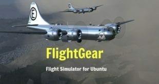 FlightGear, el simulador de vuelo Open Source publica su versión 2018.1